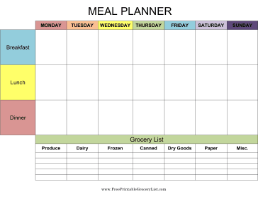 menu plans and shopping list printables the girl who ate everything