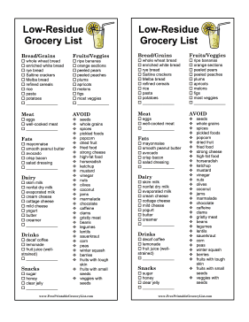 Low Carb & Keto Food List with Printable PDF