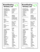 Specialty Grocery Lists